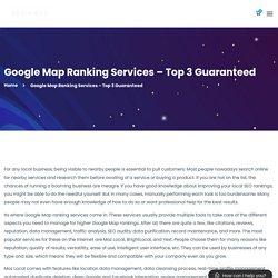Google Map Ranking Services - Top 3 Guaranteed - KevinMax