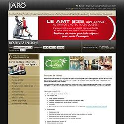 Services de l'hôtel - Hôtel Québec INN