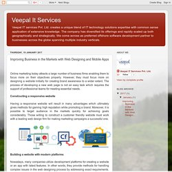 Veepal It Services: Improving Business in the Markets with Web Designing and Mobile Apps