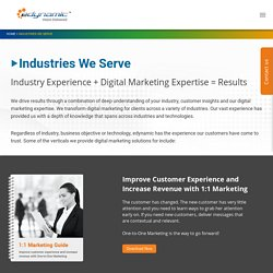 Industry Services Overview - edynamic