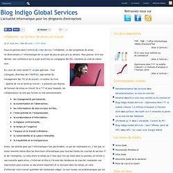 Blog Indigo Global Services » Infobésité: un facteur de stress au travail