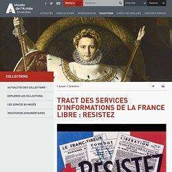Propagande de la France Libre : Resistez [image]