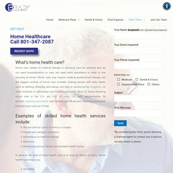 Home Health Care Services Utah - Brady Insurance Marketing