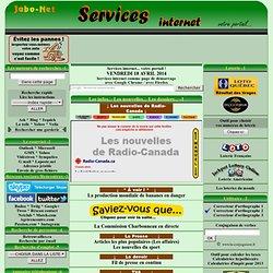 Services Internet... votre portail