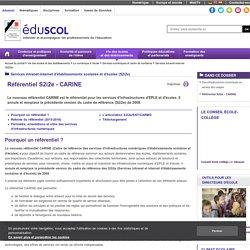 Services intranet-internet (S2i2e) - Référentiel S2i2e - CARINE