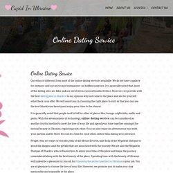 Online Dating Services in Kharkiv - Cupid in Ukraine