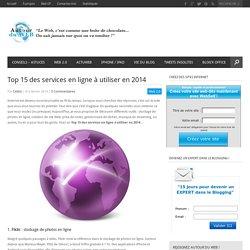Top 15 des services en ligne à utiliser en 2014