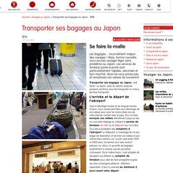 Services de livraison de bagages au Japon