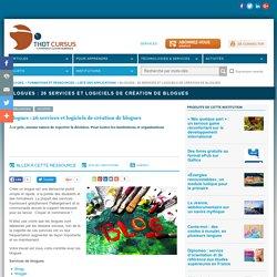 Blogues : 26 services et logiciels de création de blogues