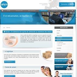 Supply chain, spécialiste de la e-logistique en Europe