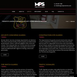 Services – Magnum Protective Services