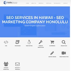 Seo Services in Hawaii - SEO Marketing Company Honolulu