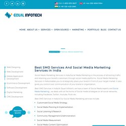 Business Promotion? Get Affordable Social Media Marketing Services in India! Equal Infotech