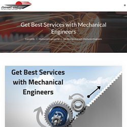 Get Best Services with Mechanical Engineers