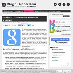 20 services Google méconnus à découvrir d'urgence