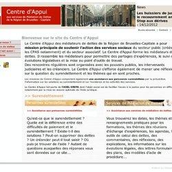 Centre d'Appui aux services de Médiation de Dettes de la Région de Bruxelles-Capitale