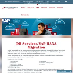 DB Services/SAP HANA Migration, DB Services, Purchase SAP Software