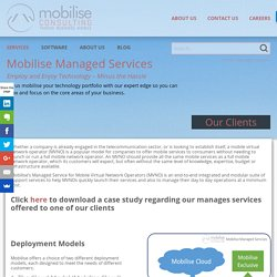 Managed Services - Mobilise Consulting