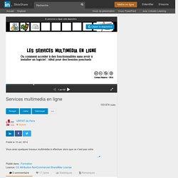 Services multimedia en_ligne
