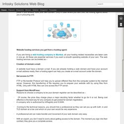 WEB HOSTING SERVICES – THE NECESSITY WHEN YOU SET UP YOUR WEBSITE