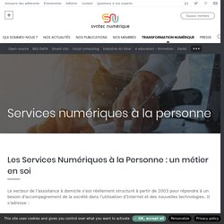 Services numériques à la personne