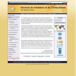 Services d'ombudsman et de médiation des Nations Unies
