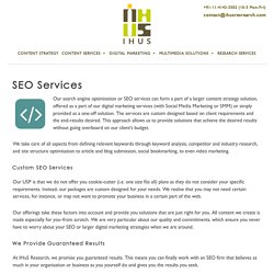 SEO Services Firm