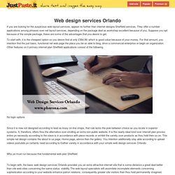 Web design services Orlando - justpaste.it