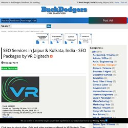 SEO Services in Jaipur & Kolkata, India - SEO Packages by VR Digitech - West Bengal, India