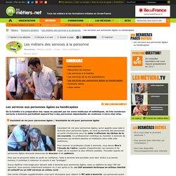 Les services aux personnes âgées ou handicapées