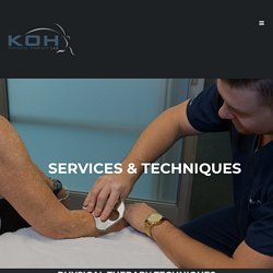 Services - KOH Physical Therapy Lab - Irvine, CA