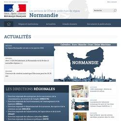 Accueil - Les services de l'État en préfecture de région Normandie