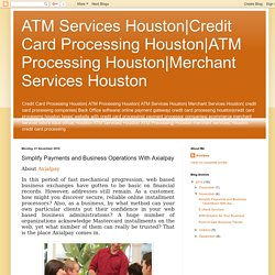 Merchant Services Houston: Simplify Payments and Business Operations With Axialpay