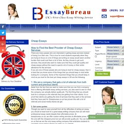 Professional Essay Writers for Hire in UK