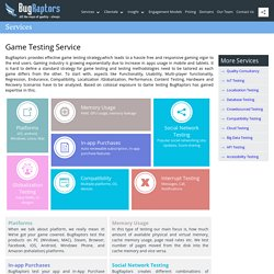 Best Mobile Game Testing Services Provider Company