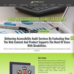 Online Audit Services Provider, Audit Services Companies