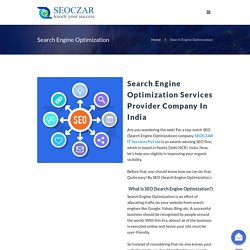 Best SEO Services Provider Company Delhi India