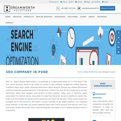 Best SEO Services Provider Pune: DreamWorth