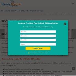 Bulk SMS India - Best Bulk SMS Services Provider