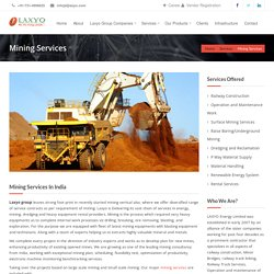 Mining Services Providers