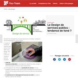 Le Design de services publics : tendance de fond ?