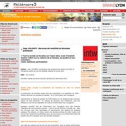 11 – Mobilité et données publiques, entretien avec Jean Coldefy