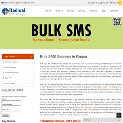 Bulk SMS Provider in Raipur, Chhattisgarh