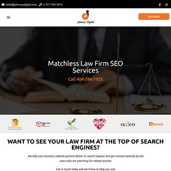 Law Firm SEO Services - Boost Your Ranking - Johnnys Digital