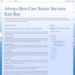 Senior Home Care Services East Bay CA