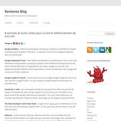 8 services et outils utiles pour suivre le référencement de son site