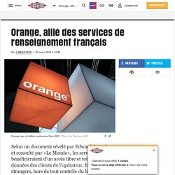 Orange, allié des services de renseignement français