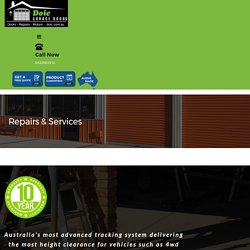 get your garage door repaired in western Australia