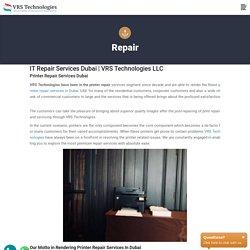 IT Repair Services in Dubai - IT Repairs - Computer Repair Services