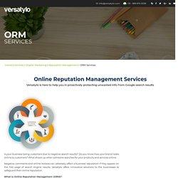 Online Brand Reputation Management Company